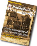Management Services Autumn 2008 Cover